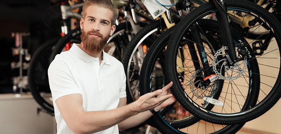 Bra cykeldelar för våren