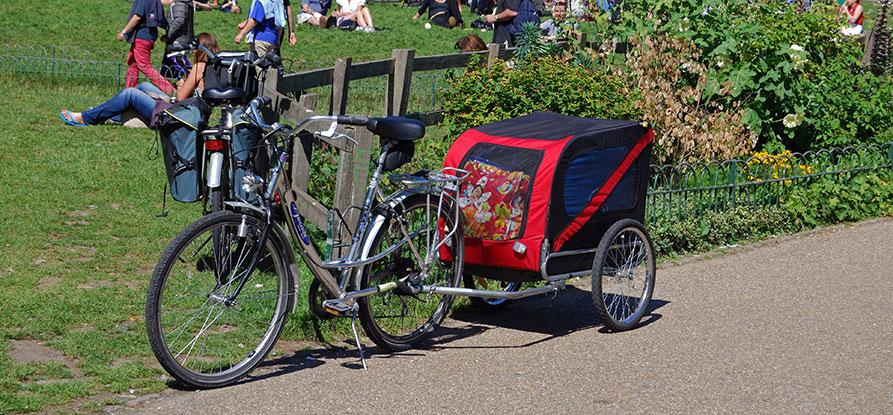 Thule Cykelvagnar – Modeller